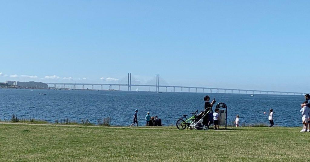 Oresund Bridge from far