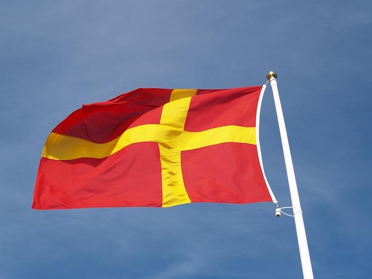 Skåne flag