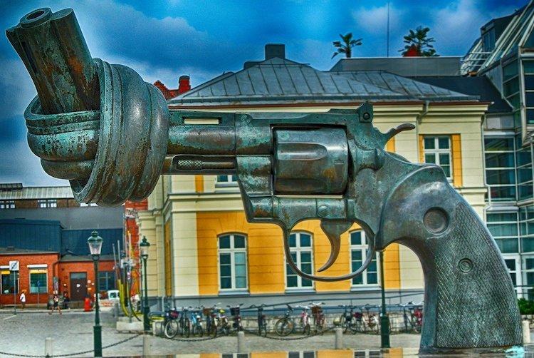 Malmö Peace Monument